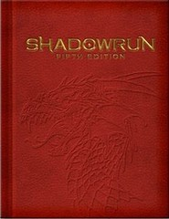 Shadowrun 5th - Limited Edition Rulebook