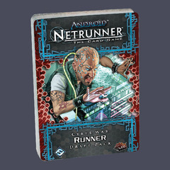 Android Netrunner - Cyber War Draft Pack - Runner