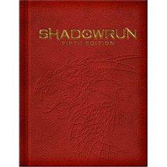 Shadowrun 5th Edition - Run & Gun - Limited Hard Cover