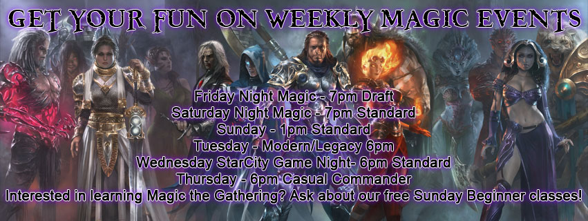 Weekly Magic Events