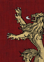 Fantasy Flight Sleeves - GOT - House Lannister