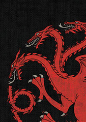 Fantasy Flight Sleeves - GOT - House Targaryen