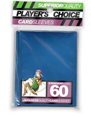 Player's Choice Yu-Gi-Oh Sleeves Pack of 60 in Metallic Blue