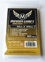 100ct Mayday Magnum Ultra-Fit Card Sleeves ( 80mm x 120mm)