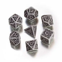 Gray with Black - Celtic 7 Die Set