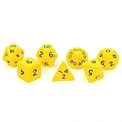 Koplow - Jumbo 28mm Polyhedral Set Yellow