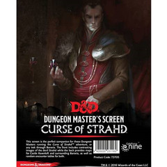 5th Edition: Curse of Strahd Dungeon Master's Screen