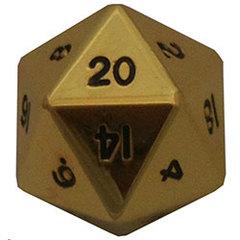 35mm Mega Metal D20 - Gold