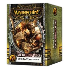 MERCENARIES - FACTION DECK (MK III)