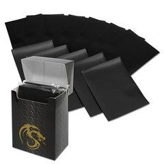 BCW Deck Guards Standard size 80 count Double Matte - Black