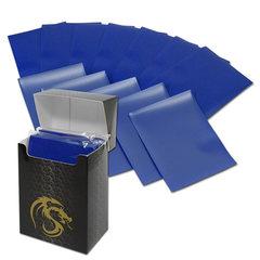 BCW Deck Guards Standard size 80 count Double Matte - Blue