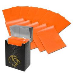 BCW Deck Guards Standard size 80 count Double Matte - Orange