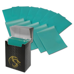 BCW Deck Guards Standard size 80 count Double Matte - Teal
