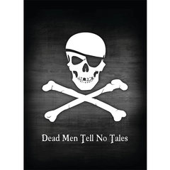Deck Protector Sleeves - Pirate Flag - 50ct