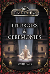 The Dark Eye RPG - Liturgies & Ceremonies Card Pack