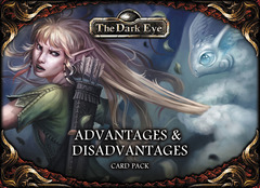 The Dark Eye RPG - Advantages & Disadvantages Card Pack