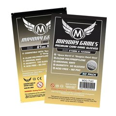 Mayday Premium Sleeves - 61mm X 103mm