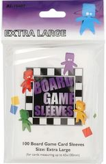Asmodee  - Extra Large Board Game Sleeves 65x100mm  (100)