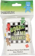 Asmodee  - Medium Board Game Sleeves 57x89mm (100)