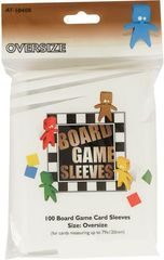 Asmodee  - Oversize Board Game Sleeves 79x120mm (100)