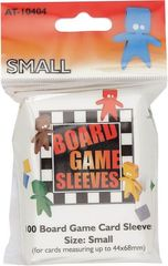 Asmodee  - Small Board Game Sleeves 44x68mm (100)
