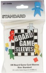Asmodee  - Standard Board Game Sleeves 63x88mm (100)