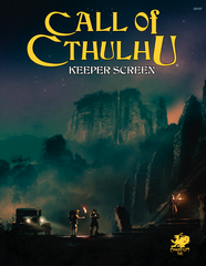 Call of Cthulhu 7th : Keepers Screen