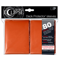 Ultra Pro - Sleeves: PRO-Matte Eclipse Standard Deck Protector Sleeves Orange