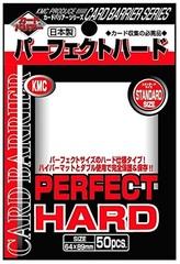 KMC Perfect Hard Sleeves (50ct)