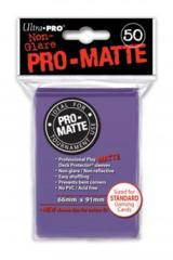Ultra Pro PRO-Matte Standard Sleeves - Purple (50ct)