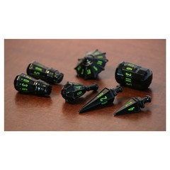Warrior Set - Black & Goblin Green