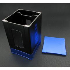 Deck Box: Seer- Black and Blue
