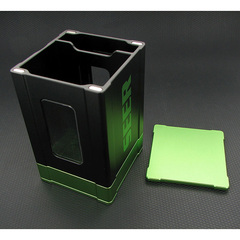 Deck Box: Seer- Black and Green