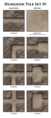Game Master's Toolbox - Dungeon Tiles Set IV