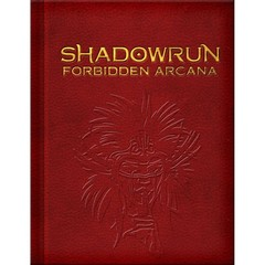 Shadowrun 5E: Forbidden Arcana - Limited Edition
