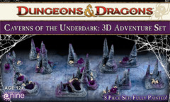 Caverns of the Underdark: 3d Adventure Set