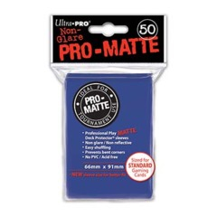 Ultra Pro PRO-Matte Standard Sleeves - Blue (50ct)
