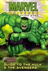 Marvel Universe Roleplaying Game - Guide to the Hulk & the Avengers