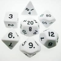 Koplow - Jumbo 28mm Polyhedral Set White