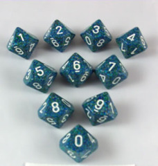 Koplow 10 die set - Speckled Sea
