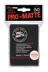 Ultra Pro PRO-Matte Standard Sleeves - Black (50ct)