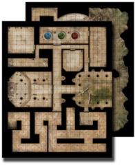GameMastery Flip-Mat - Ancient Dungeon