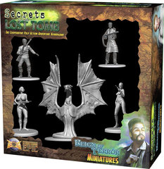 Secrets of the Lost Tomb Reigns of Terror Miniatures