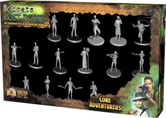 Secrets of the Lost Tomb Core Adventures minatures