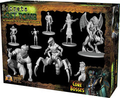 Secrets of the Lost Tomb Core Bosses Miniatures