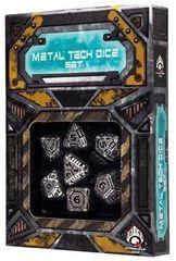 Metal Tech Dice Set 7D set