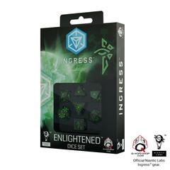 Ingress 7D dice set Enlightened