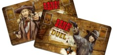 Bang the Duel 2 Player Mats
