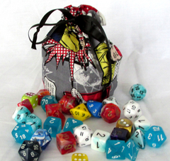 Small Star Trek Dice Bag