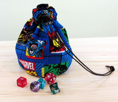 Medium Dice Bag Marvel Comics